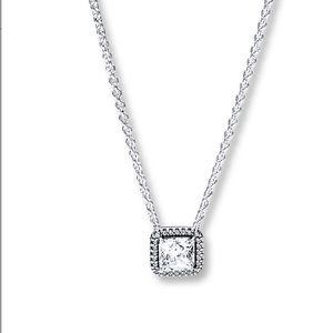 Pandora diamond necklace
